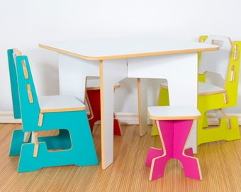Table set, kids, furniture, chair, bench, table, kids chair, kids table, stool kids, table and chair for kids, chair and table for child