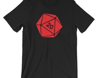 D20 Short-Sleeve Unisex T-Shirt