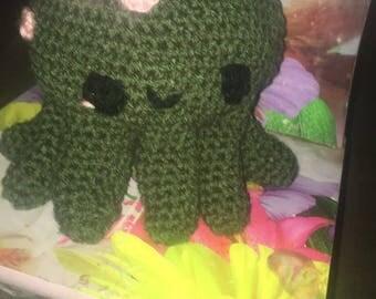 7 inch octopus amigurumi plushie