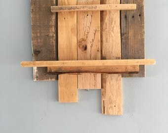 Natural Wood Shelf