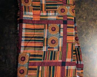 "7 yards Material - ""African Beat"""