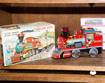 Vintage Daiya Fairyland Locomotive