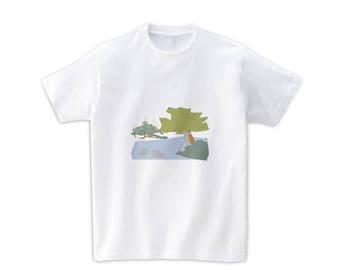 """Graphic Tshirts """"Kenrokuen in Kanazawa, Japan"""""""
