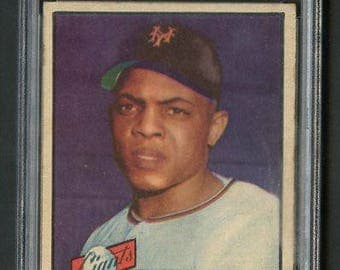 1952 Topps #261 Willie Mays RC Rookie PSA 4 - Centered