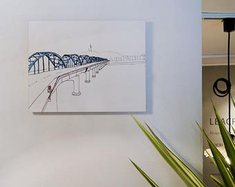 8x10 Canvas Print / Seoul Moment Series