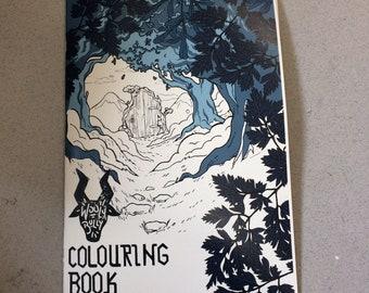 A4 colouring book!