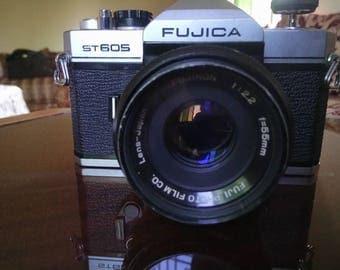 Fujica ST 605 35mm SLR Camera in Good+