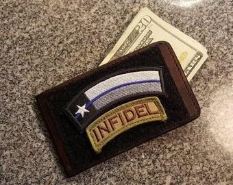 Morale Patch minimalist wallet