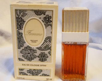 Femme Rochas 60 ml cologne spray vintage
