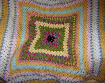 A Small Crochet Blanket