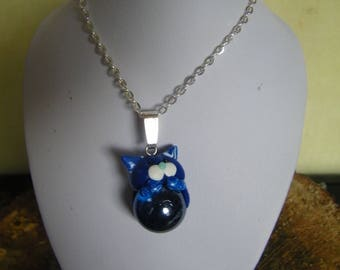 Cat with Ball pendant