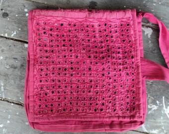 Handbag, hand purse, cross body handbag, Pink bag, shoulder bag, side purse, vintage side handbag, ladies hand purse, casual bag,bag, purse