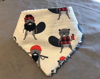 Boy Toddler Bandanna Bib