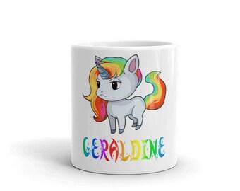 Geraldine Unicorn Mug