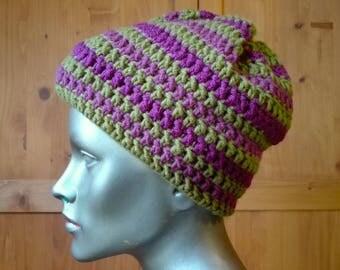 winter beanie, crochet beanie, warm winter hat