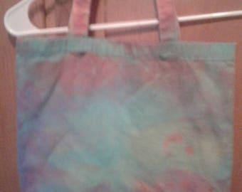 Tye dye handbag