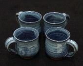 Stoneware Pottery Mugs