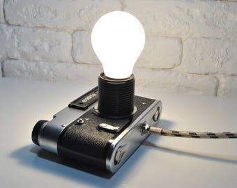 Quality lamp for bedroom, table desk lamp for office, kids room lamp, steampunk lamps, modern desk lamp, edison lamps, minimalist lamp, vtg