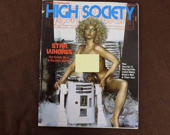 High Society Magazine from October 1977