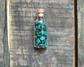 Malachite Fairy Jar