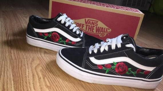 vans rose old skool