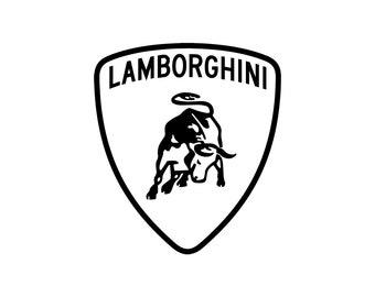 Lamborghini Cut SVG EPS DXF
