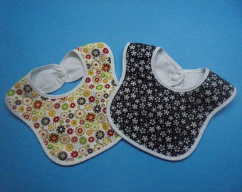 baby bibs  100% cotton  pack of 2