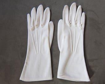 Vintage 1950's Shalimar Gloves, Women's size 6