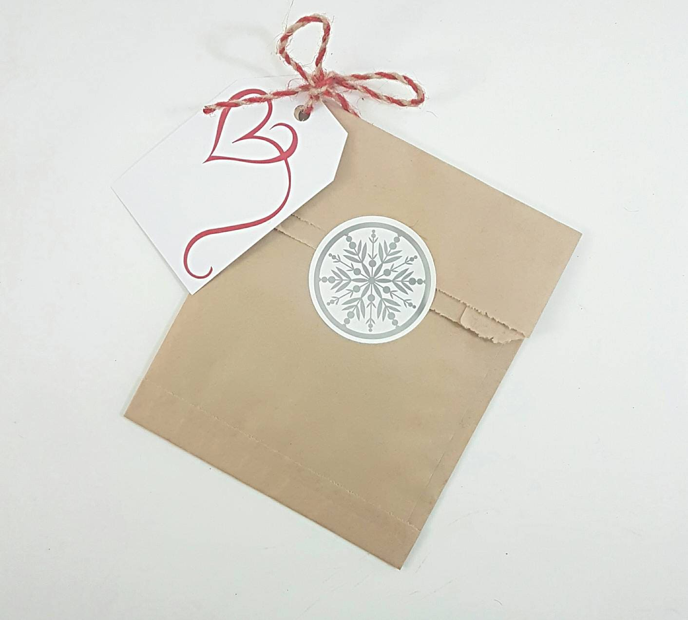 25 Kraft Brown Paper Bags 5x7.5 || Merchandise Bags - Gift Wrapping ...