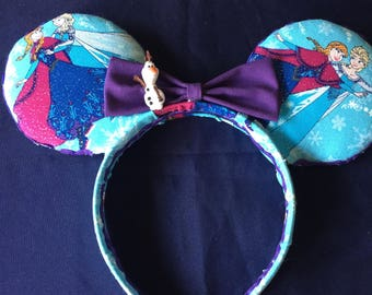 Frozen Inspired Mouse Ears