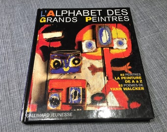Great painters alphabet - book for young - Gallimard Youth - 1998 edition