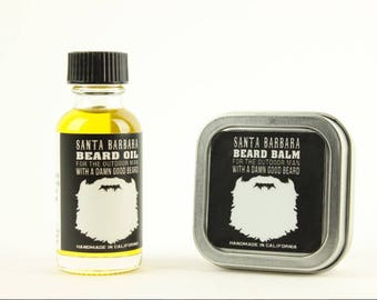 Beard oil 1oz & 2oz Beard Balm Mint/Eucalyptus Scent