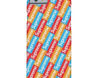SUPREME iphone case, iphone 5 5s 5c case, iphone 6 6s 6 plus case, iphone 7, 7 plus case, iphone X, iphone 8, 8 plus, case samsung supreme