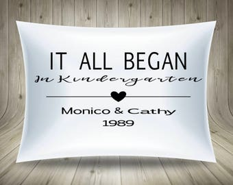 Personalize Pillow- Keepsake Gift- Anniversary Gift- Birthday Gift- Wedding Gift- Mothers day gift