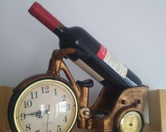 Rickshaw Bike style Wine Bottle Holder