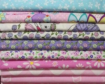 10 cut fabric 40x50 cm (+ - 1.2 cm) Russia