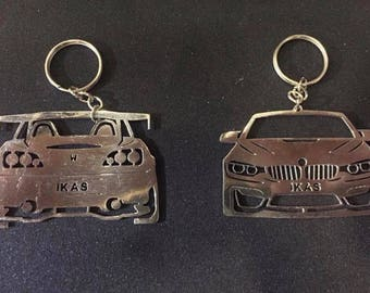 Custom Made Keychains for Car Enthesiast