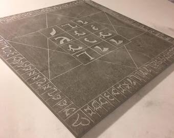 Tile Enochian Holy Table