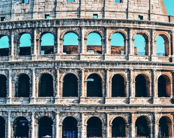 The Colosseum, Rome, Italy, Travel Photography, Europe, Wall Art, Home Decor, Photography Prints