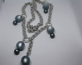 Chains and stones Necklace
