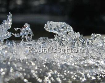 Tiny Ice Sculpture