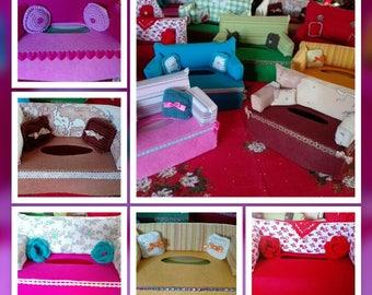 Kleenex sofa