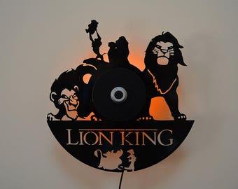 The Lion King Sconce wall lighting Light Room Decor