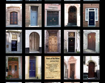 Doors of the Rhine and Mosel Rivers