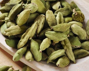 Best Spice: Cardamom, Natural Food, Organic Spice, Vegan, Vegetarian. (50 gr)