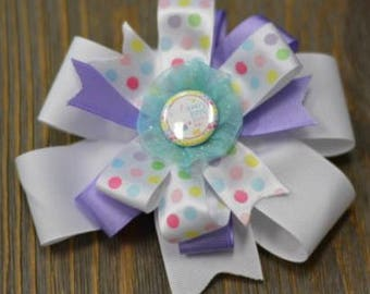 Easter hair bow