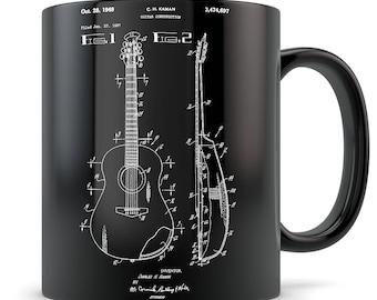 Acoustic guitar gift, acoustic guitar mug, guitar gift for men, guitar gift idea, guitar gift for women, guitar gift, guitar teacher gift