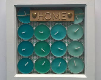 Love Home picture, new home gift , unusual picture gift
