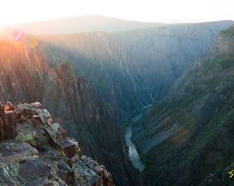 Black Canyon of the Gunnison photo print
