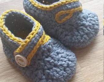 Bespoke Crochet Booties
